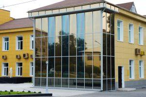 стеклянные (светопрозрачные) фасады