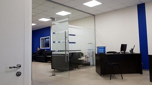 офисные алюминиевые перегородки во Владимире
