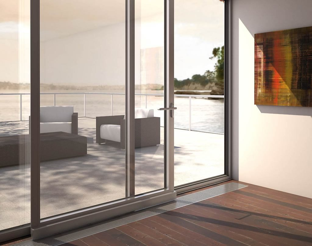 раздвижные алюминиевые двери во владимире